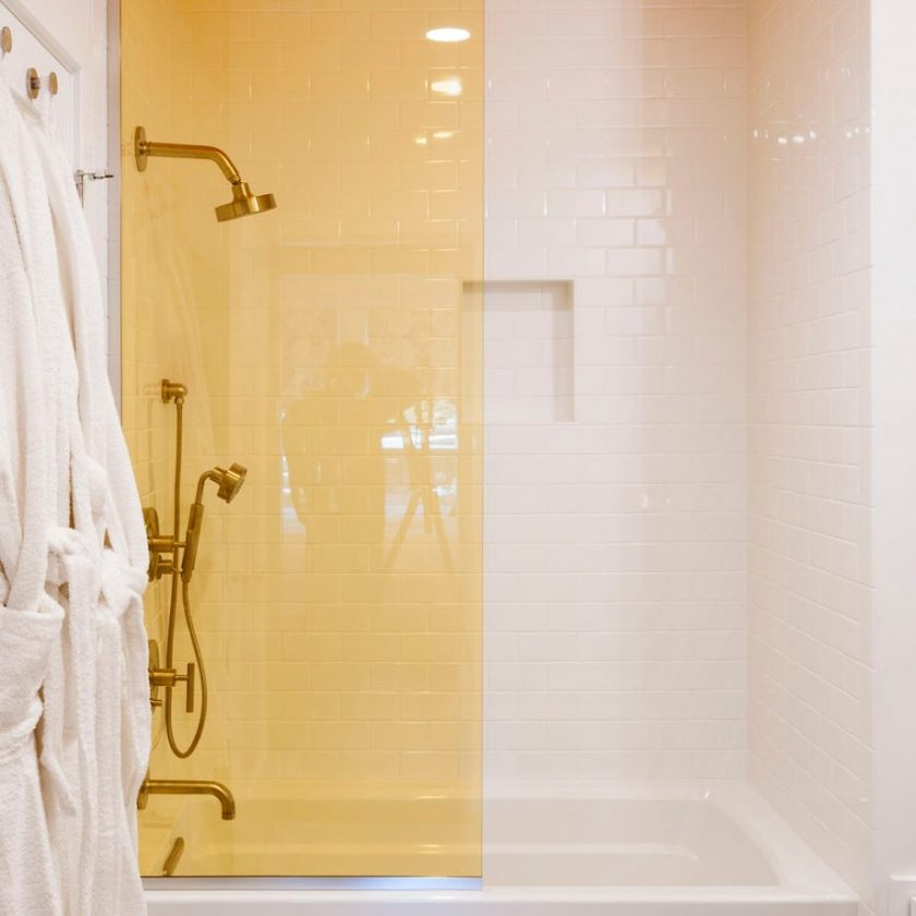 Characterise with Colour in Small Bathroom