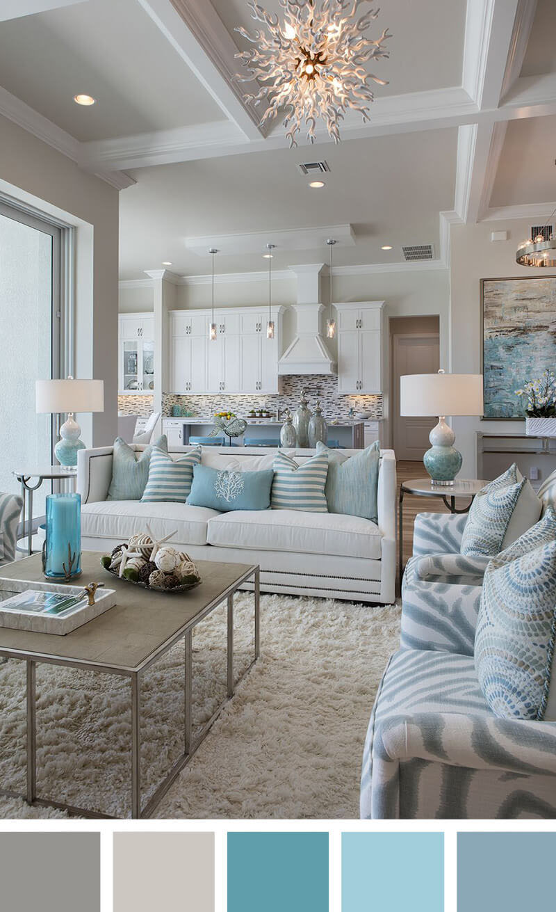 21 top small living room decorating ideas on a budget for Calming living room ideas