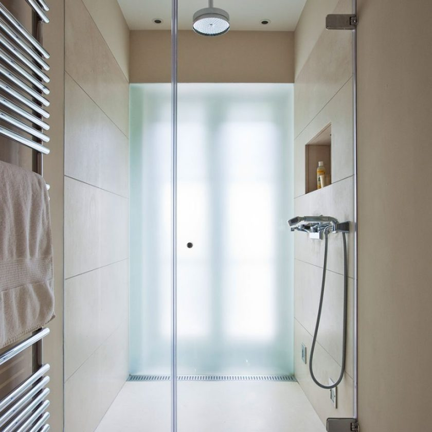 Think Smart With A Narrow Space Bathroom Ideas