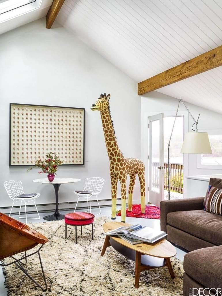 Playful Small Living Room