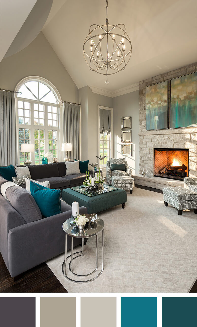 Small Living Room Decorating Ideas - Neutral Isn't Boring