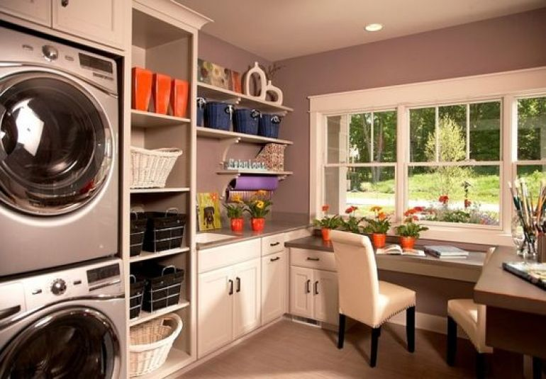 Study and Laundry Room Ideas