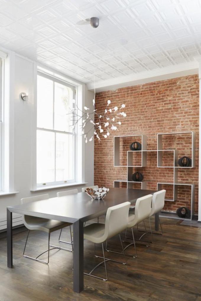 Dining Room Wall Decor Ideas: Shelves - Harpmagazine.com