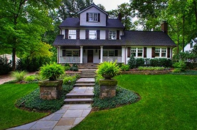 Front Yard Landscaping Ideas: Balanced Landscaping Ideas harpmagazine-com