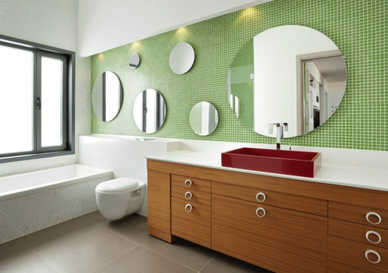 Mix And Match Bathroom Mirror Ideas - harpmagazine.com