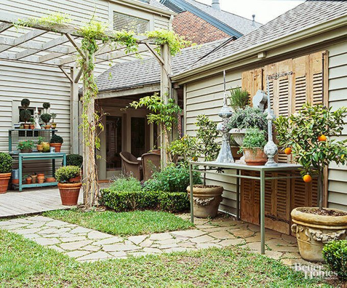Backyard Landscaping Ideas - Landscape Around an Eyesore - harpmagazine.com