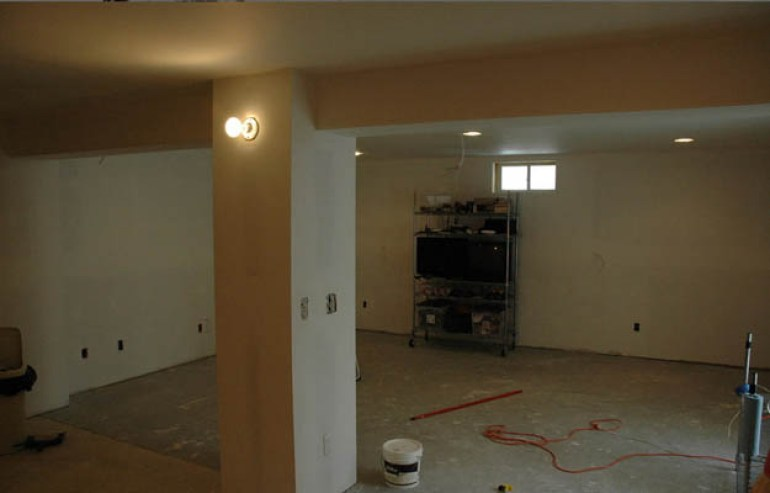 Basement Ceiling Ideas - Use Drywall Ceiling - harpmagazine.com