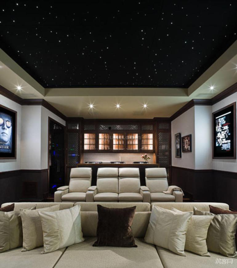 Basement Ceiling Ideas - Fiber Optics for Basement Ceiling - harpmagazine.com