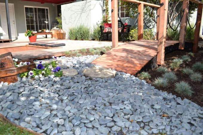 Backyard Landscaping Ideas - Personalize Landscaping Stones - harpmagazine.com