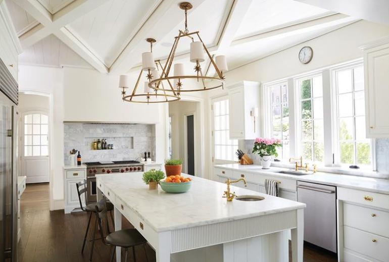 Kitchen Lighting Ideas - Shabby Chic Chandelier B - harpmagazine.com