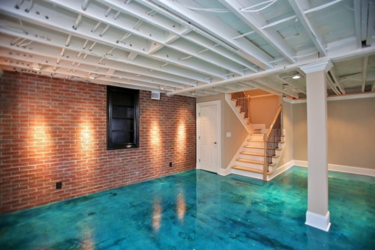 Basement Ceiling Ideas - Open Ceiling Design - harpmagazine.com
