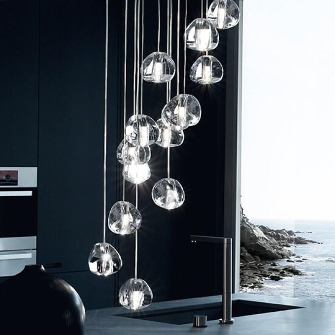 Kitchen Lighting Ideas - Statement Lighting - harpmagazine.com