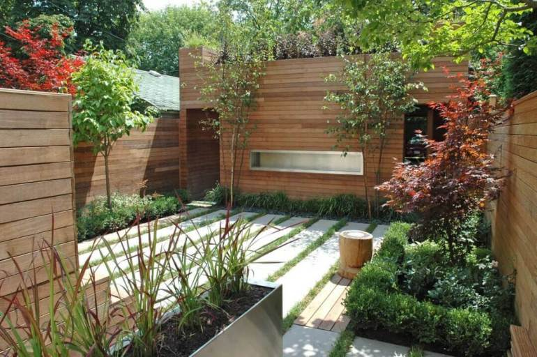 Backyard Landscaping Ideas - Horizontal Haven - harpmagazine.com