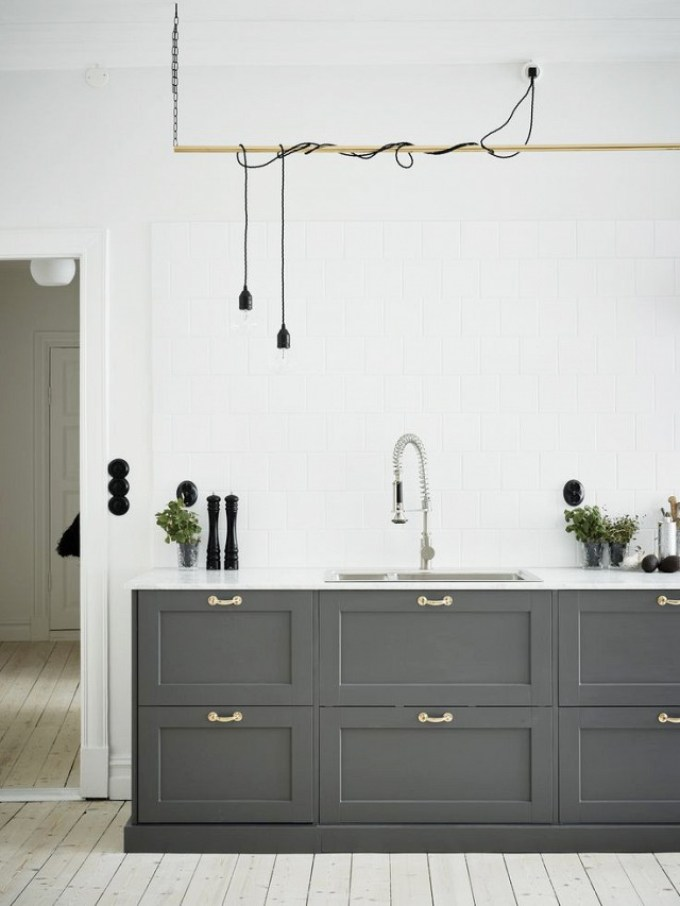 Kitchen Lighting Ideas - Island - harpmagazine.com