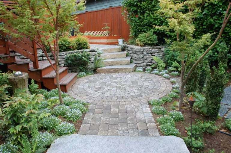 Paver Patio Ideas - Seattle Zen - Harpmagazine.com