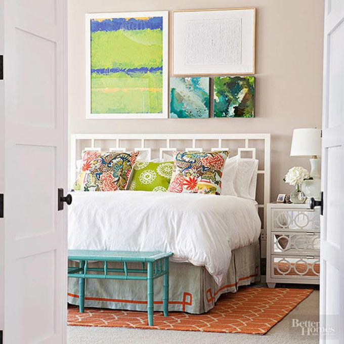 Modern Master Bedroom Decor Ideas - Calm Yet Colorful - Harpmagazine..com