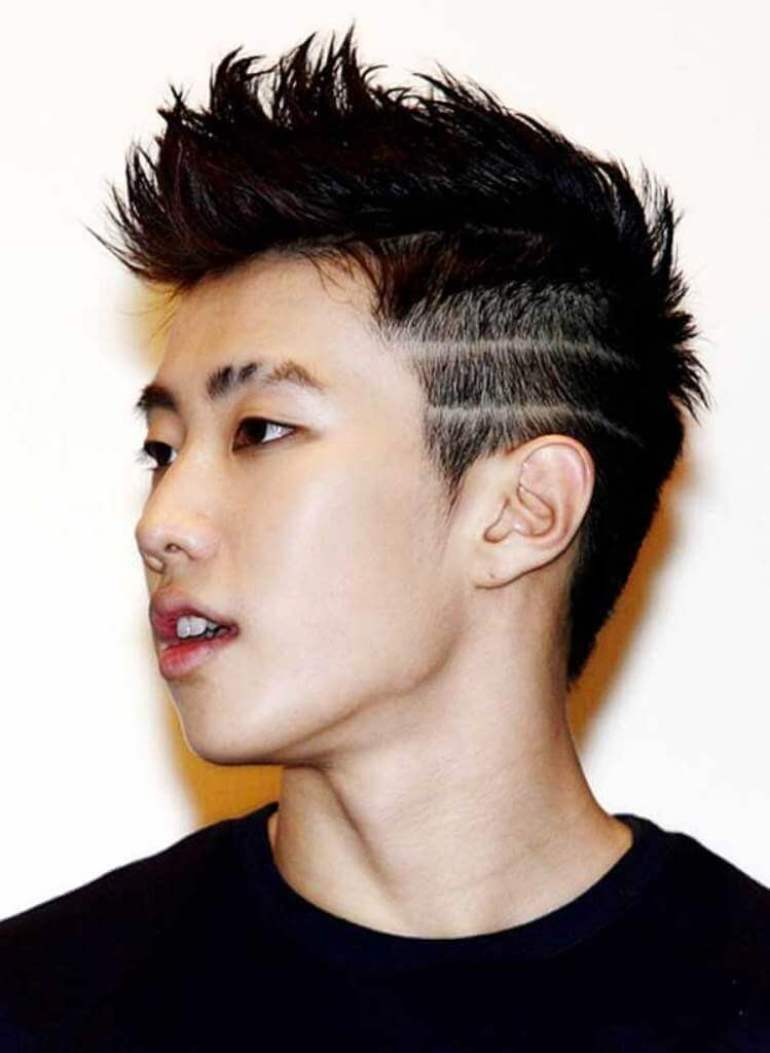 Asian Hairstyles Men The Chinese Fade - Harpmagazine.com