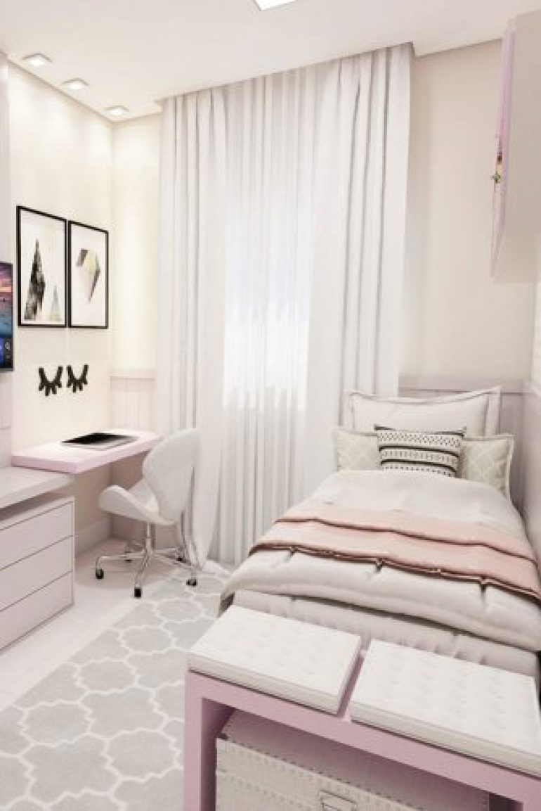 Teenage Girl's Bedroom Ideas - Cool And Calm Teen Room Design Ideas - harpmagazine.com