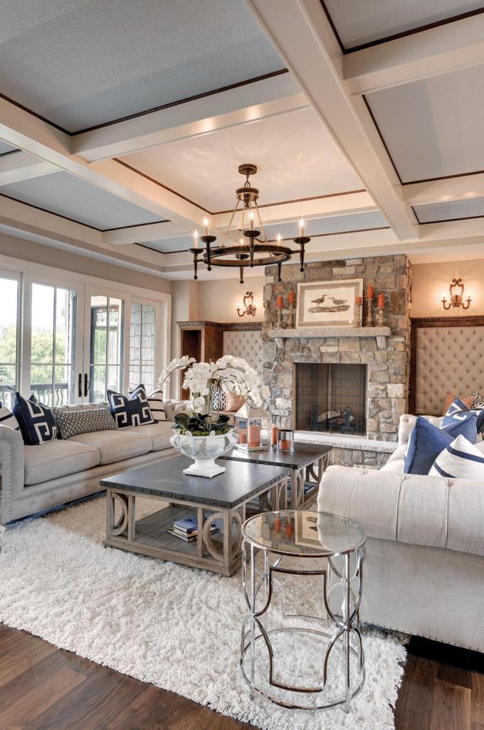 Rustic Chic Living Rooms Ideas - A Marble Rustic Chic Experience - harpmagazine.com