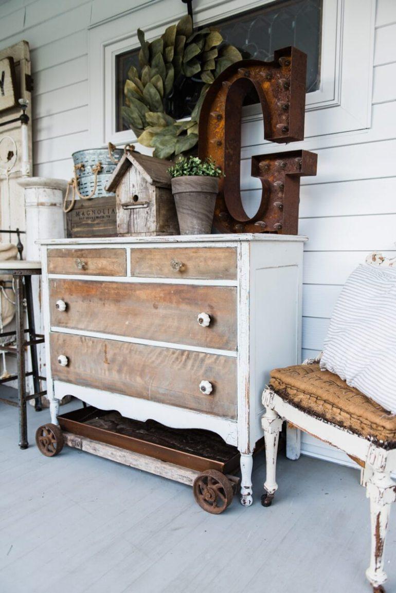 Farmhouse Porch Decorating Ideas - Farmhouse Bedroom Porch Bureau & Decor Ideas - Harpmagazine.com