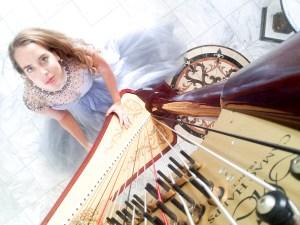 Luxury-Wedding-Harpist-Nichole-Rohrbach-McKenzie-Photoshoot-Pottstown-Pennsylvania