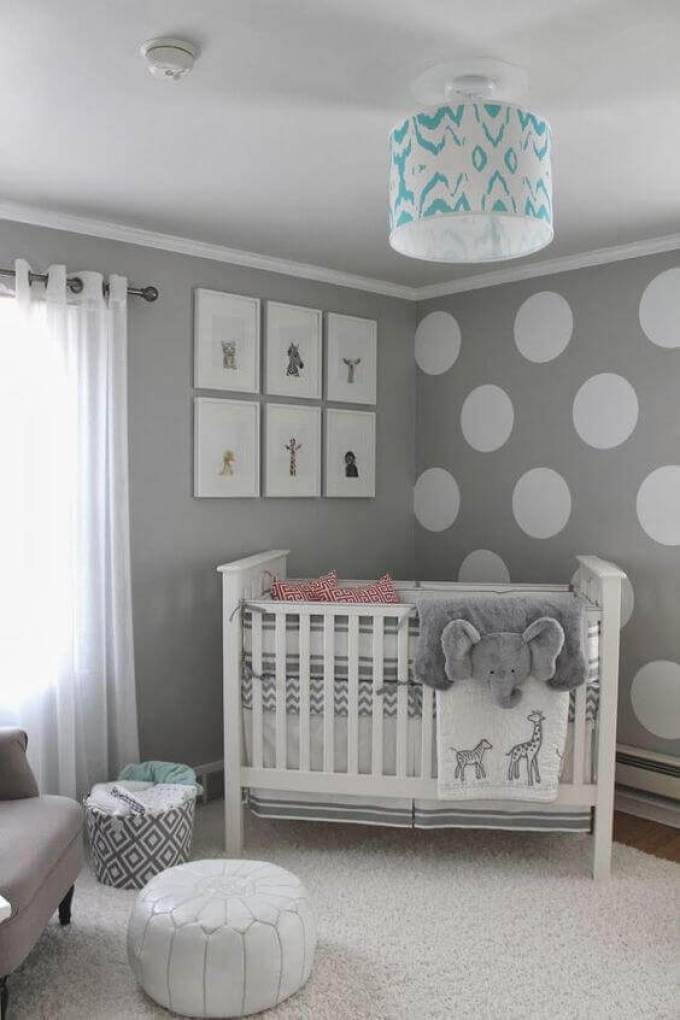 Baby Room Ideas Soft Tones and Patterns for Baby Room Ideas - Harppost.com