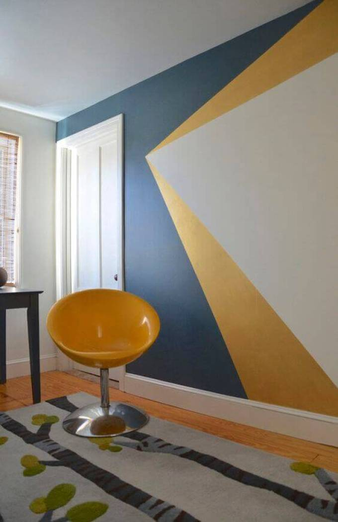 Bedroom Paint Colors Dynamic Blue and Yellow - Harppost.com
