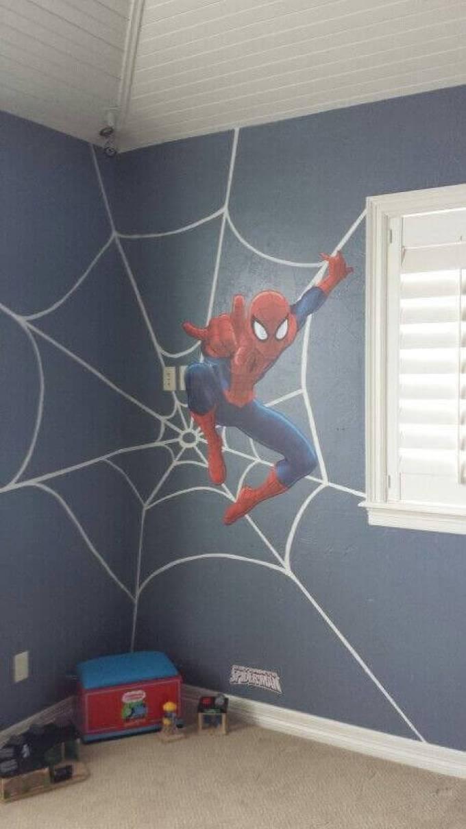 Boys Bedroom Ideas A True Spiderman Lover - Harppost.com