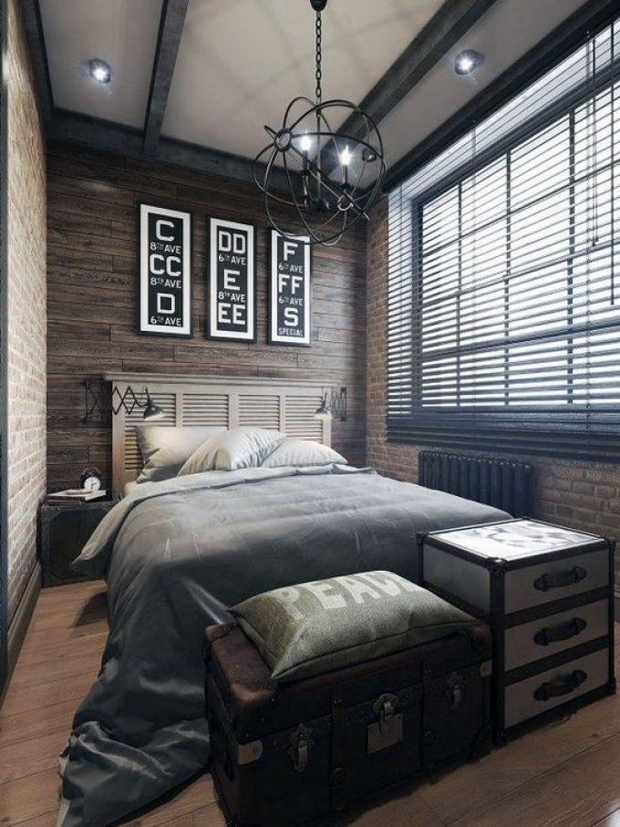 Boys Bedroom Ideas Antique Industrial Charm - Harppost.com