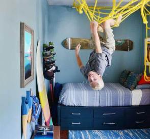 Boys Bedroom Ideas Sporty Playground