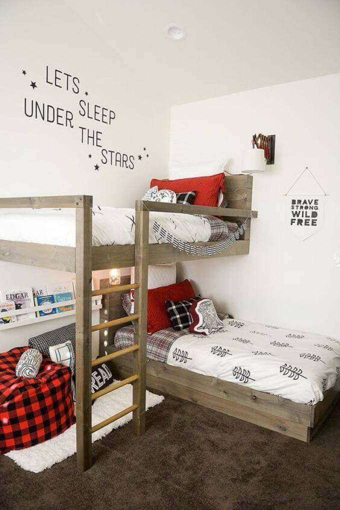 Boys Bedroom Ideas The Mixing Patterns - Harppost.com