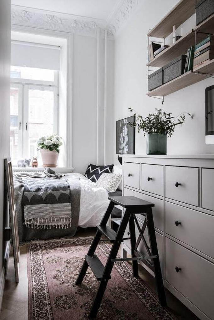 Floating Shelves for Small Bedroom Ideas - Harppost.com