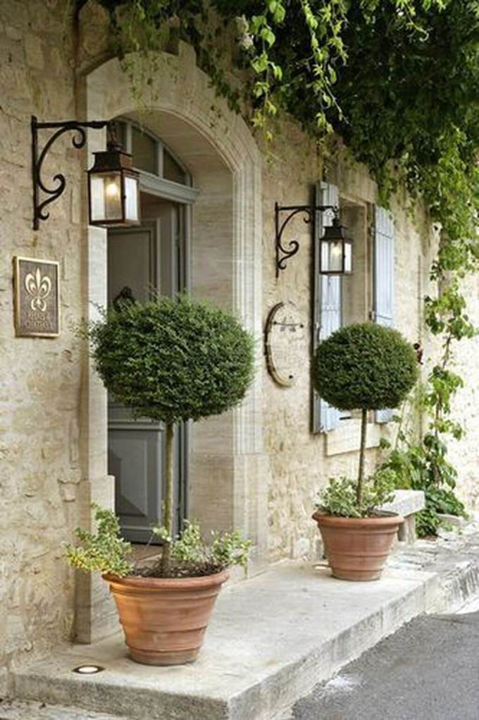 French Country Decor Cool Porch - Harppost.com