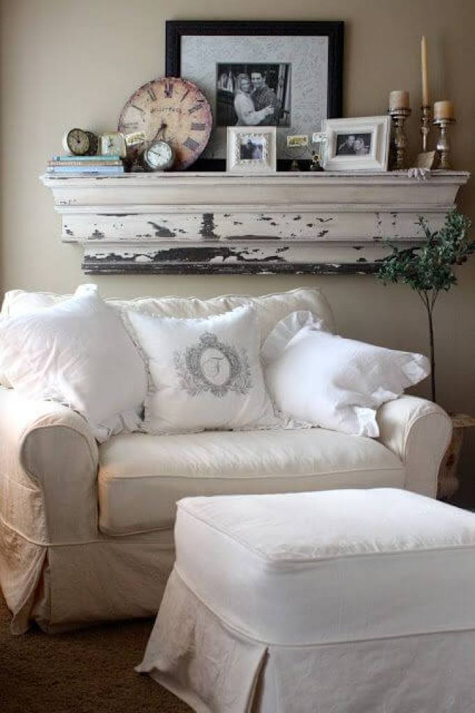 French Country Decor Cozy Place to Curl Up - Harppost.com