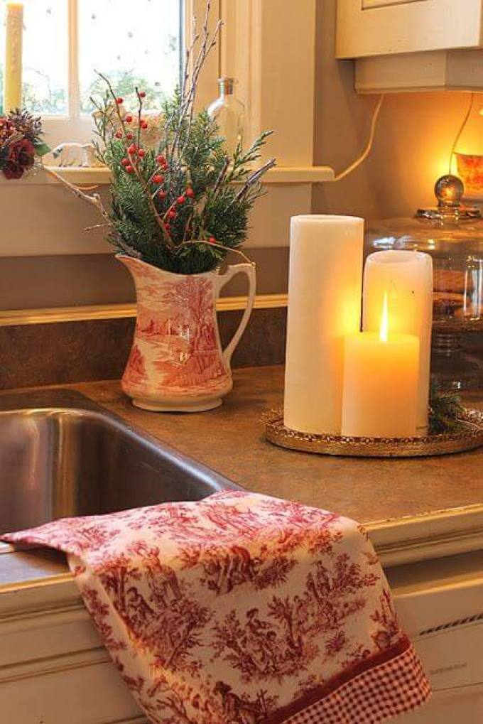 French Country Decor Romantic Kitchen - Harppost.com