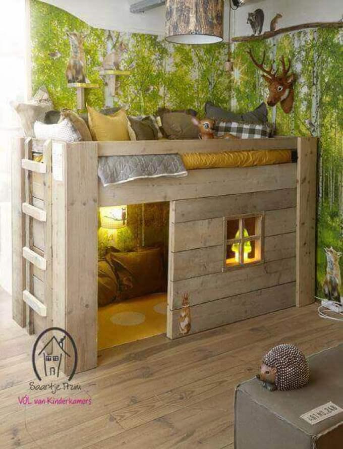 Kids Bedroom Ideas Epic Woodland - Harppost.com