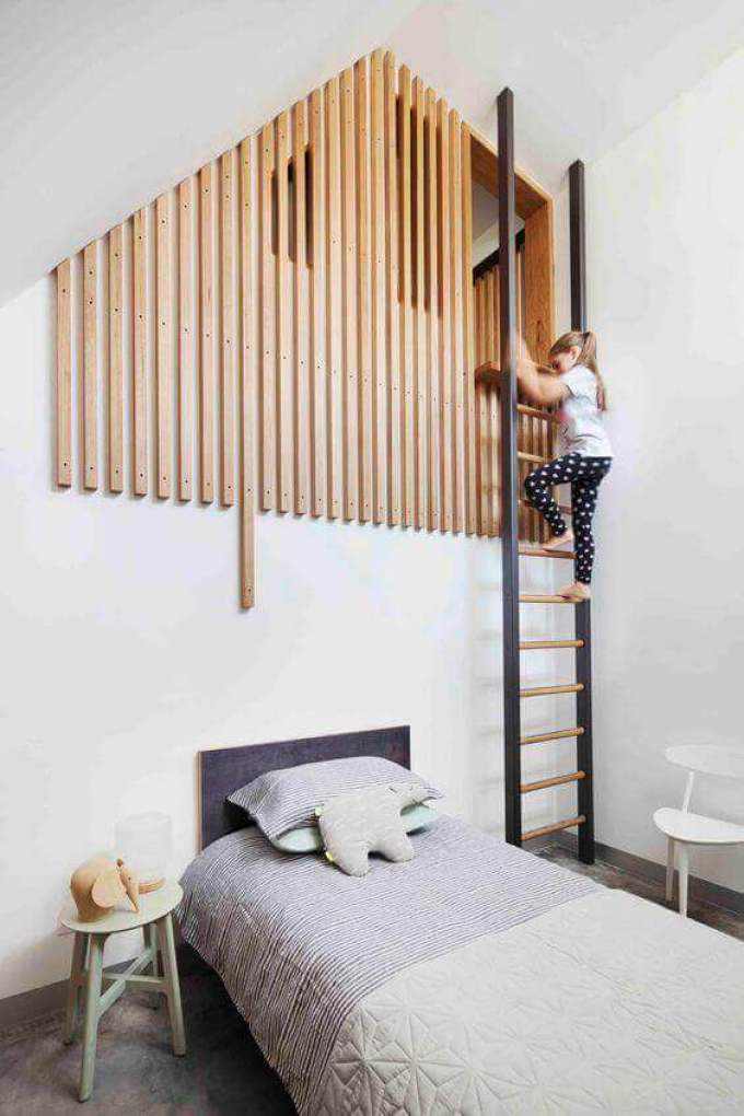 Kids Bedroom Ideas Extraordinary Ladder - Harppost.com