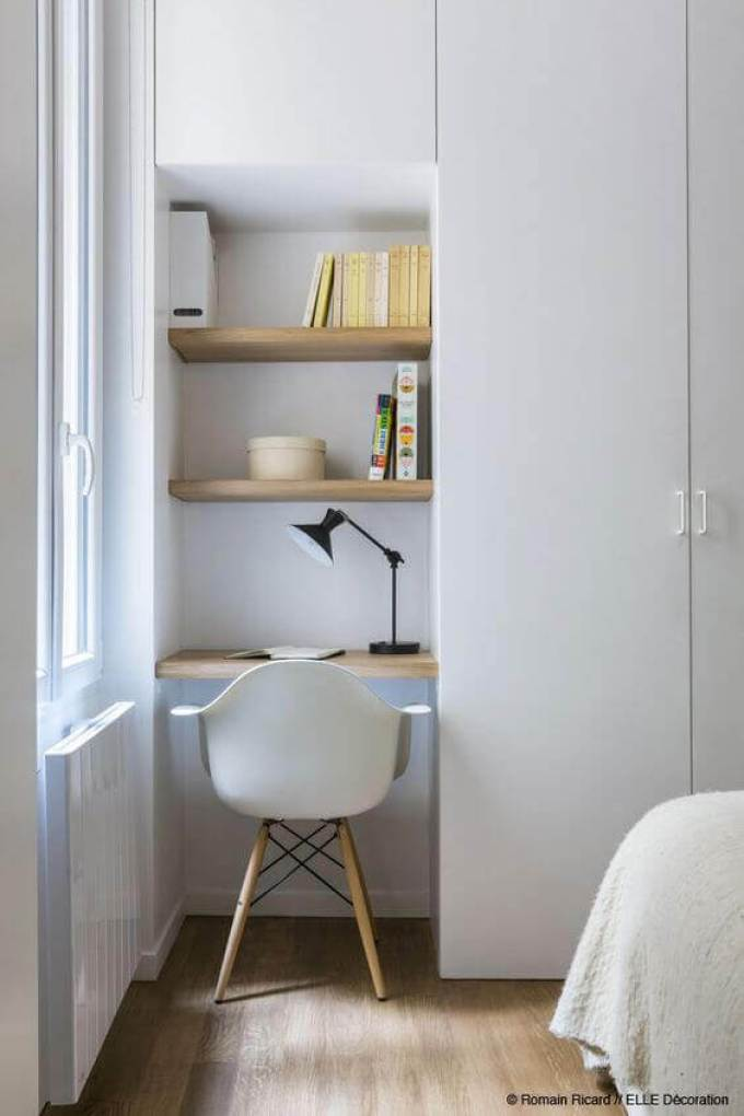 Small Bedroom Ideas with Study Area - Harppost.com