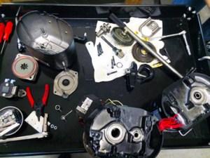Open Gear Box Hoist Inspection