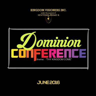 E-Flyer design for 'Dominion Conference' 2016.