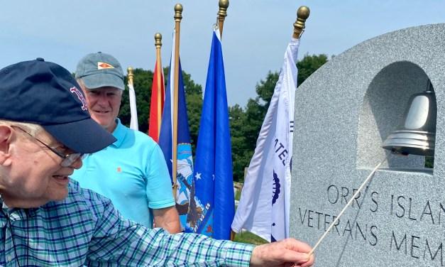 New monument on Orr's honors 171 island veterans