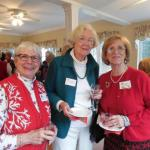 Peg Newberg, Ann Standridge and new member Sandra Norton
