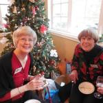 Susan Flagg and Linda Clement