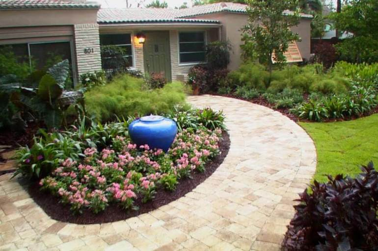 29 simple front yard landscaping ideas on a budget 2018 - Simple front yard landscaping ideas on a budget ...