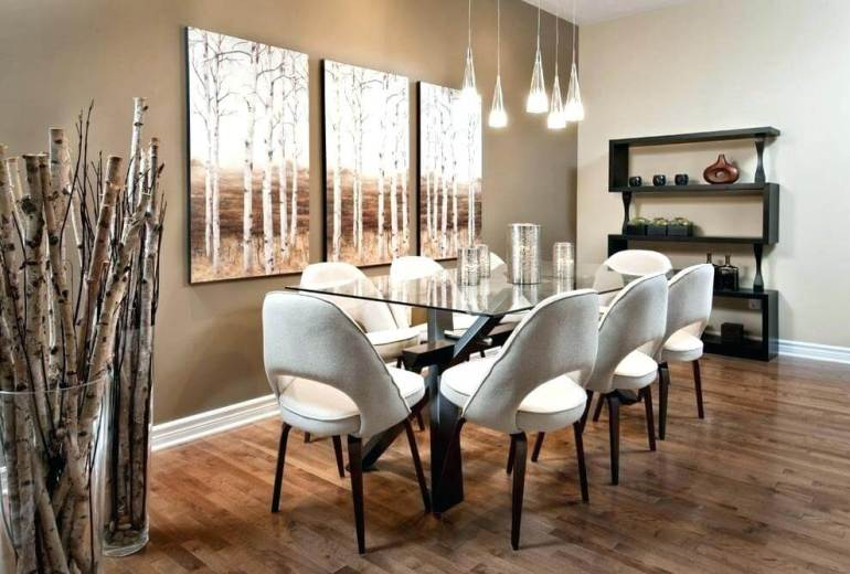 Rustic Dining Room Wall Decor - Bring The Nature to The Dining Room - Harptimes.com