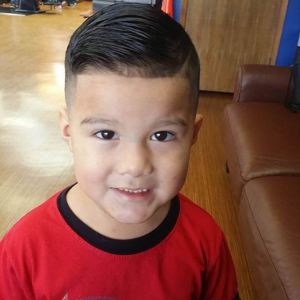 15. Kids Hairstyles Military Haircut boys - Harptimes.com