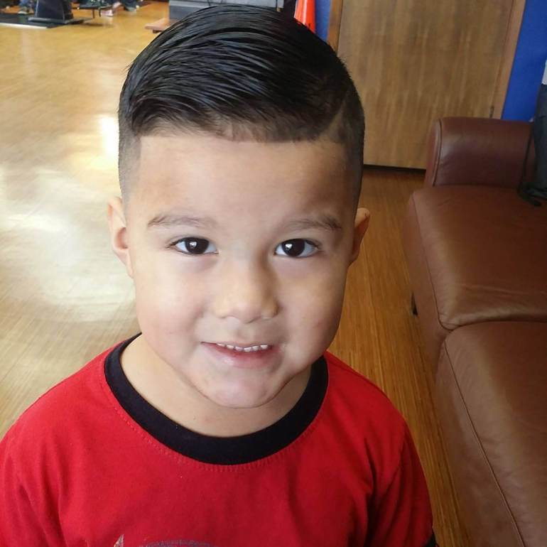 15. Kids Hairstyles Military Haircut boys - Harptimes.com