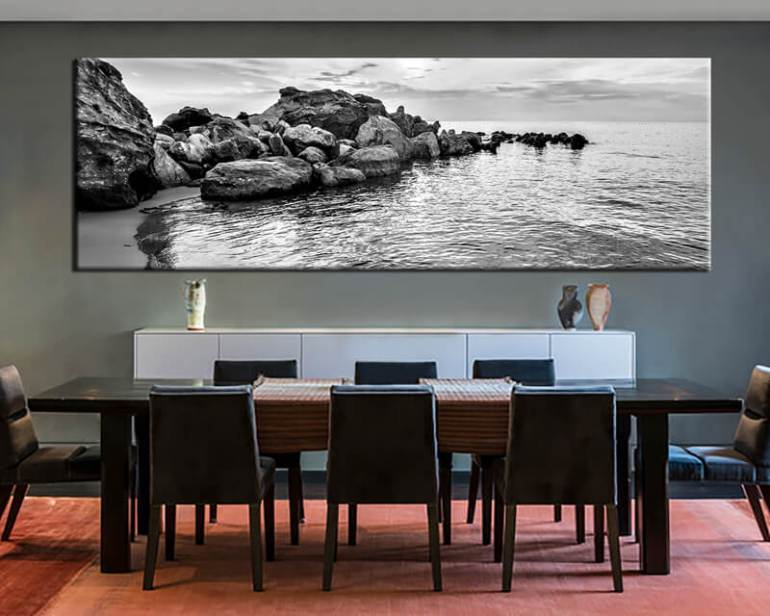 The 3 D Photograph Dining Room Wall Decor