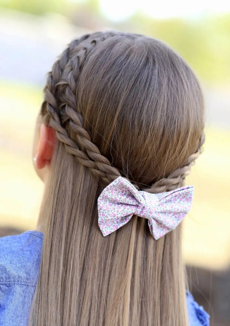 2. Simple Kids Hairstyles Braid For Kids - harptimes.com