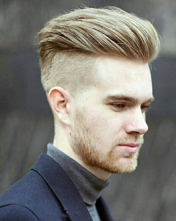 Top Medium Length Hairstyles Men - Undercut and Slick Back Haircut - Harptimes.com